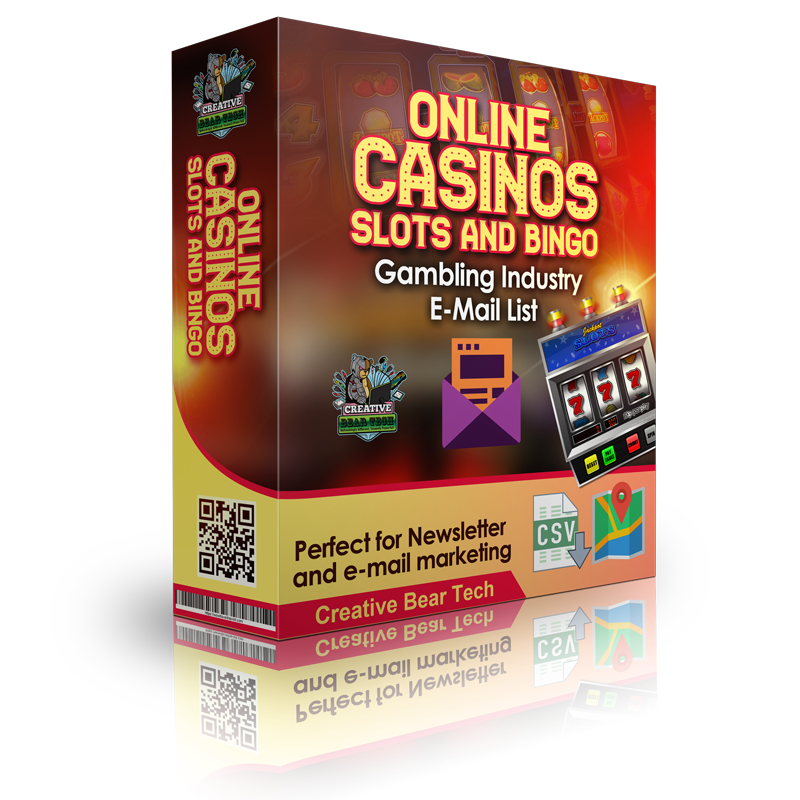Online Casinos Slots And Bingo Gambling Industry E-Mail List